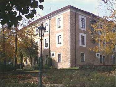 """Dnešní tzv. """"Zámeček"""", původní sídlo Báňského učiliště a Horní školy"""